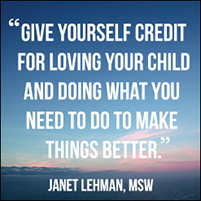 Parenting Lessons You Learn Along the Way: A Message from Janet Lehman