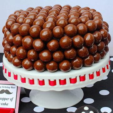 Malt Ball Cake