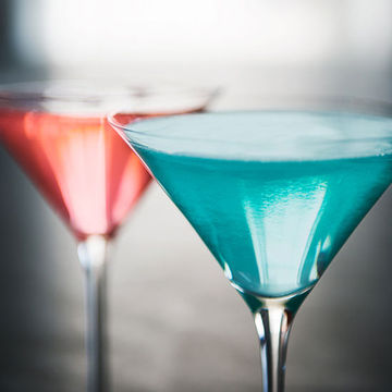 Get The Recipe Color Coordinated Cocktail And Mocktail