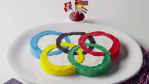 Olympic Birthday Cake
