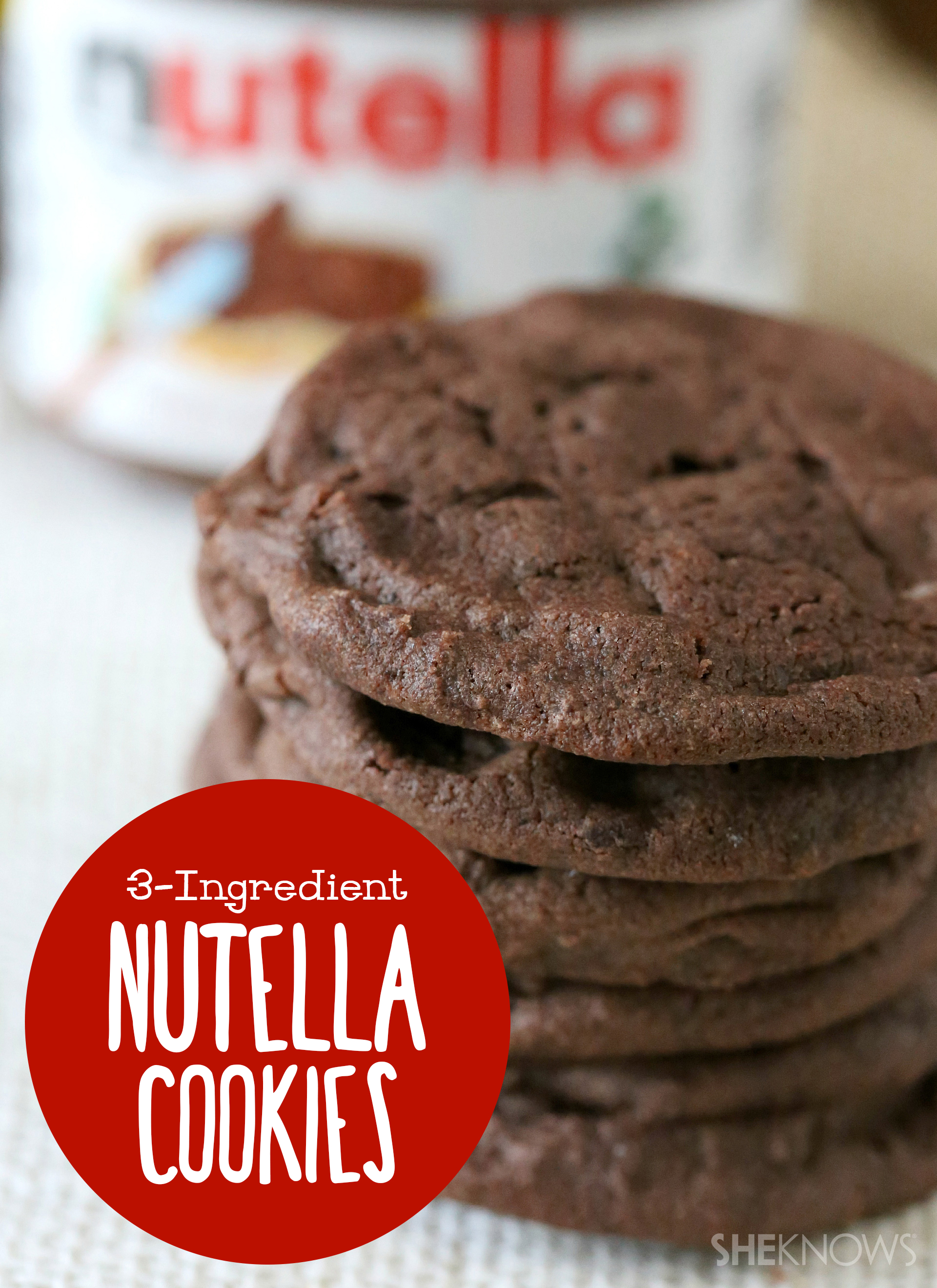 Chocolate-hazelnut cookies so easy it's silly — deliciously silly, that is
