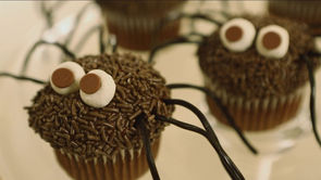 Daddy Longlegs Cupcake