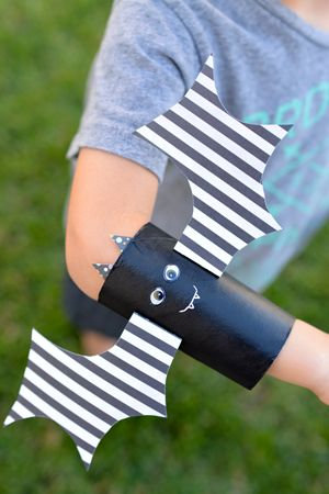 toliet paper roll armbands