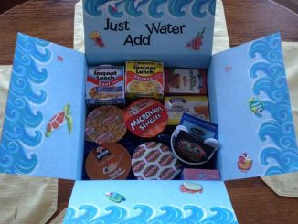 Mom Sends College Son a Care Package He'll Never Forget